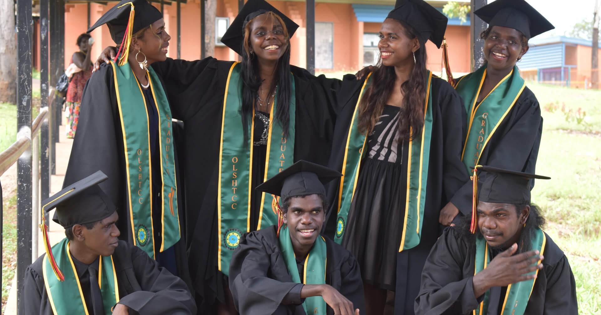 Wadeye's First Graduating Class In 13 Years (SBS News)